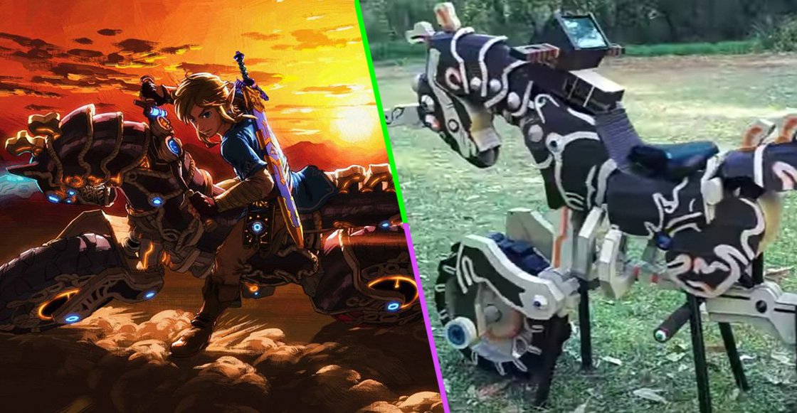Gamer nivel: Hicieron la motocicleta de Zelda: Breath of the Wild en tamaño real