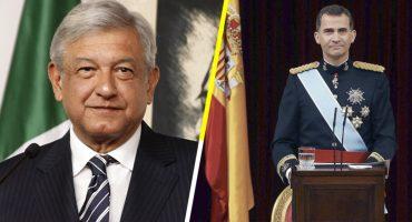 El rey de España, Felipe VI, vendrá a la toma de posesión de López Obrador