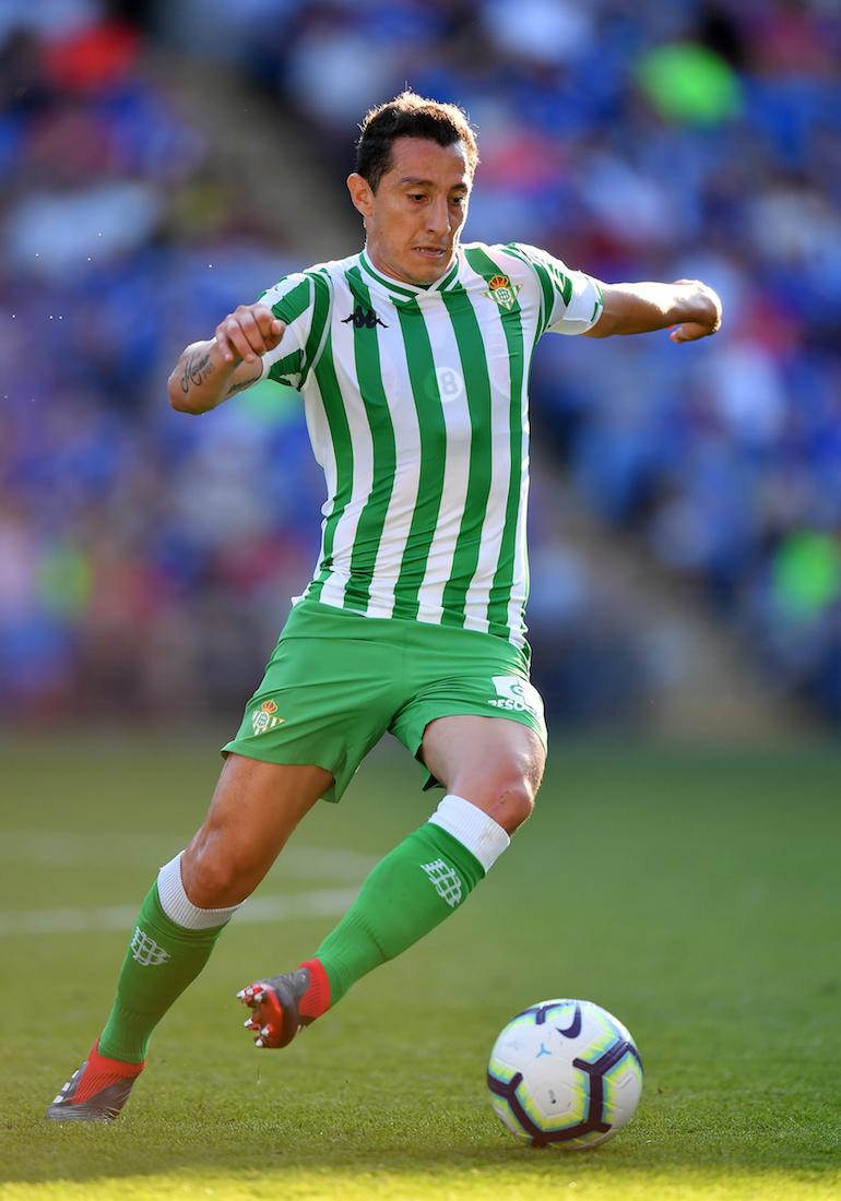 Andrés Guardado, un titular indiscutible con el Betis