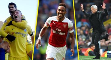 Aubameyang le mete presión a Hazard: Lo que nos dejó la Premier League