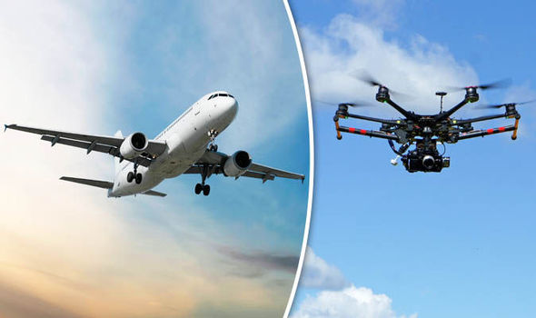 Drones pequeños representan alto riesgo para los aviones