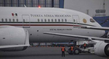 Por mantenimiento, el avión presidencial estará parado (al menos) un mes