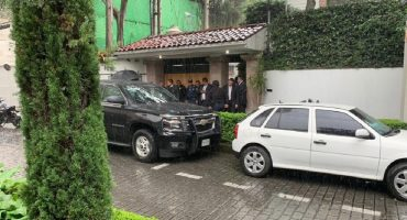 Balacera en la casa de Norberto Rivera
