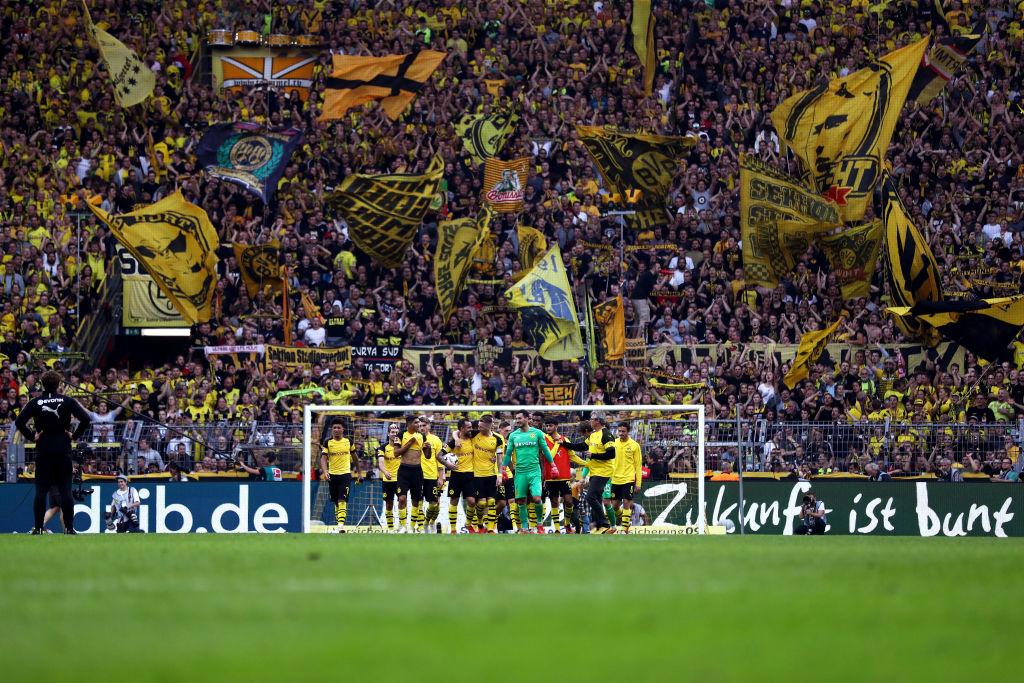 Borussia, líder de la Bundesliga