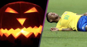 ¡Genios! Bomberos recomiendan hacer un 'Neymar' en caso de incendio en Halloween