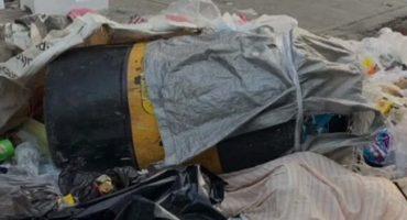Chale: Dejan cadáver dentro de un tambo en el Centro Histórico
