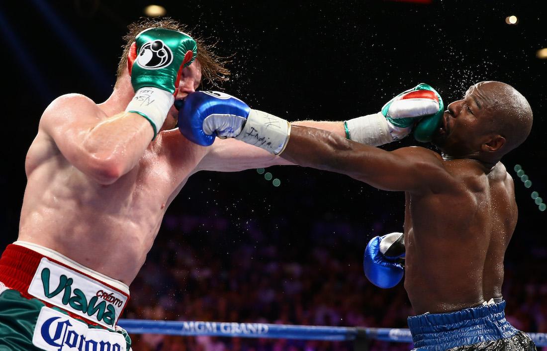 Mayweather vs Canelo Álvarez