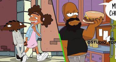 Este artista pensó cómo lucirían tus personajes favoritos si fueran negros