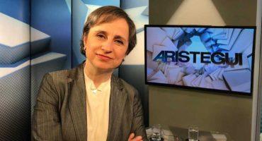 Otorgan premio a Carmen Aristegui por exponer la corrupción gubernamental en México