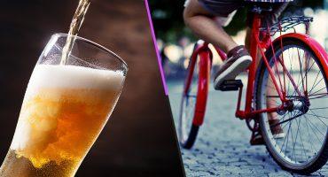 ¿Amante de andar en bici? Esta aplicación te recompensa con helado y cerveza