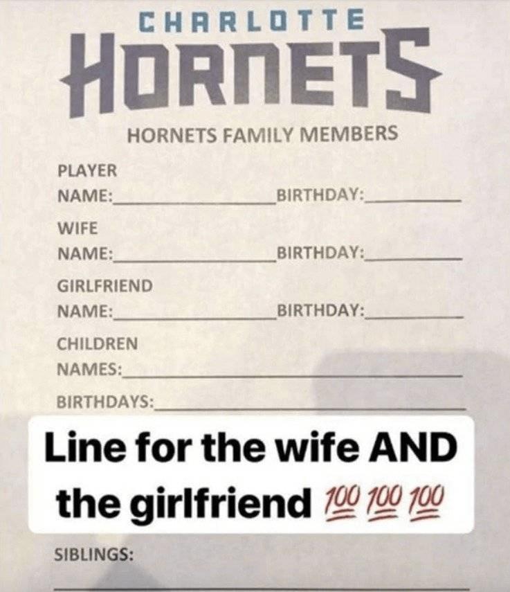 El cuestionario que ayuda a jugadores de la NBA a ser infieles