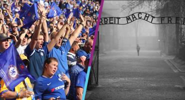 Chelsea analiza mandar a aficionados racistas al campo de concentración de Auschwitz