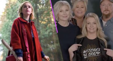 Sabrina, Harvey, Hilda y Zelda le desean buena suerte a 'The Chilling Adventures of Sabrina'