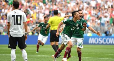 Gol de Chucky Lozano a Alemania forma parte del informe de Rusia 2018
