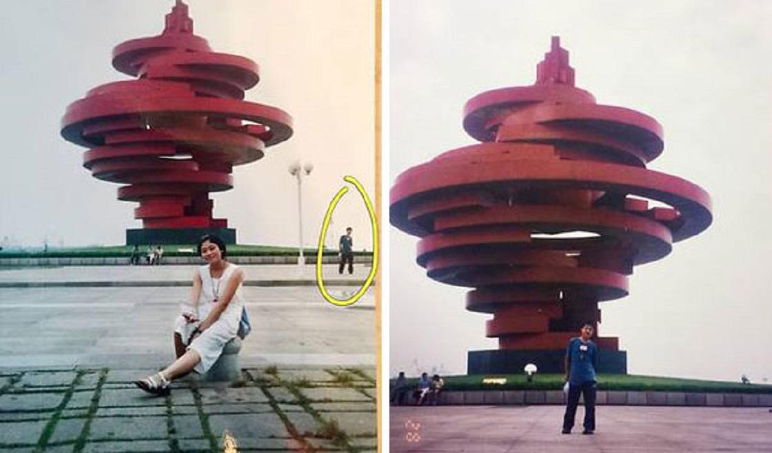 Fotografías que guardan grandes coincidencias de internet