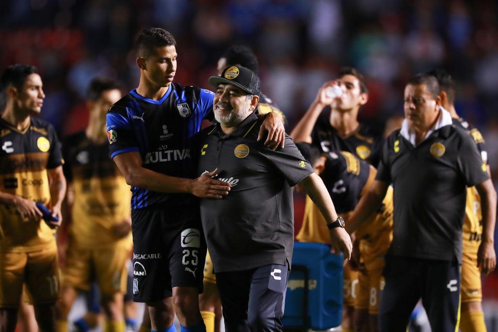 Maradona, tras la eliminación en la Copa