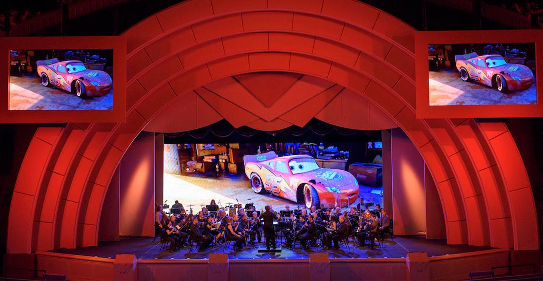 La música de Pixar totalmente en vivo