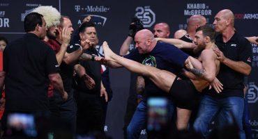 ¡Está loco! McGregor quiso golpear a Nurgadomedov previo a pelea en UFC 229