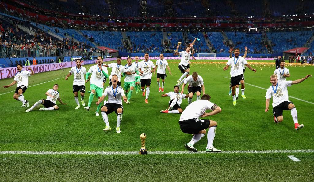 Final de la Copa Confederaciones entre Chile y Alemania