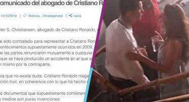 Abogado de Cristiano Ronaldo confirma existencia de un acuerdo con la víctima