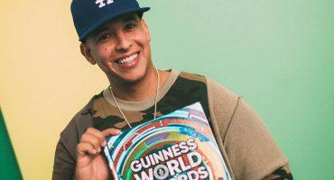¡Presea dale presea! Daddy Yankee recibe récord Guinness como primer latino #1 en Spotify