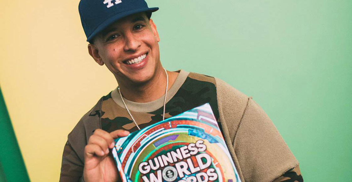 ¡Presea dale presea! Daddy Yankee recibe Récord Guinness como el primer latino #1 en Spotify