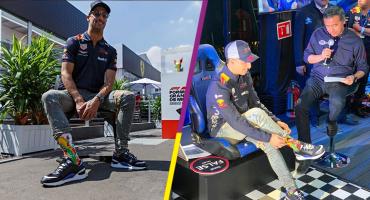 ¿Calcetines de la virgencita María? El secreto de Ricciardo para conquistar la Pole Position en México