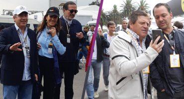 ¡Carrera de gala! Estos deportistas y famosos asistieron al GP de México