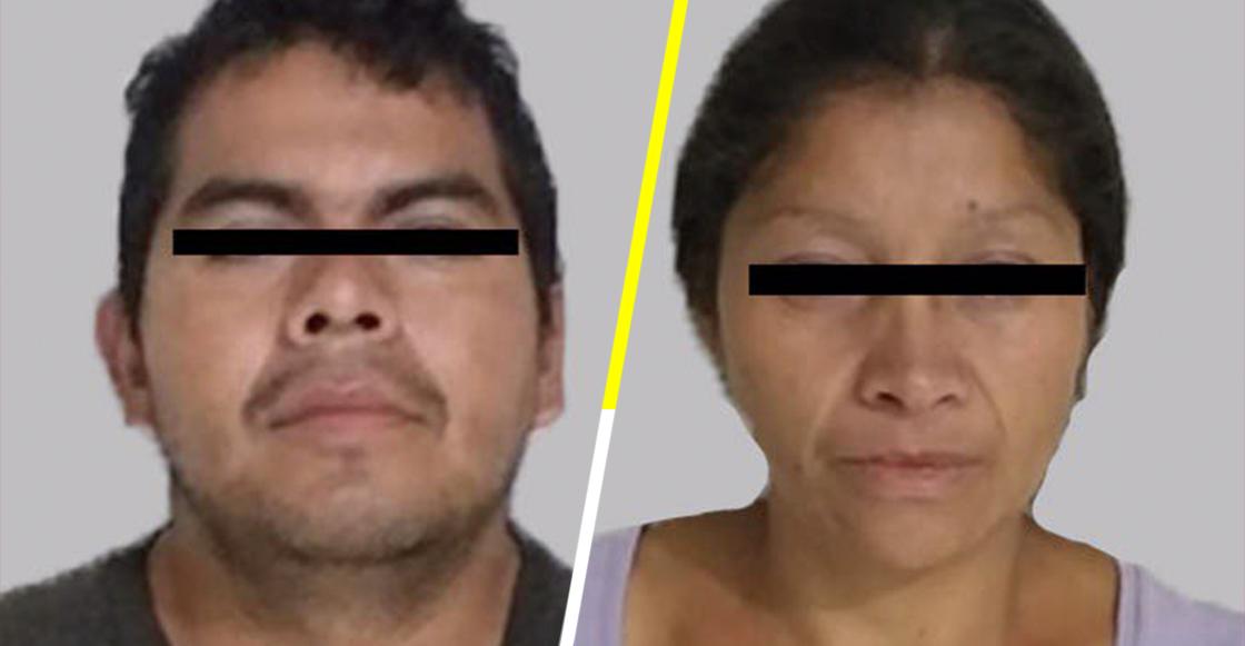 Mundo enfermo y triste: Detienen en Ecatepec a una pareja que llevaba restos humanos en una carriola