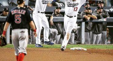Serie Mundial 2018: En un juego larguísimo, Dodgers gana el primero