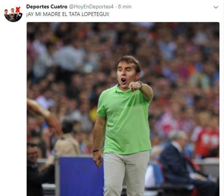El Real Madrid perdió en Champions pero ganó con los memes