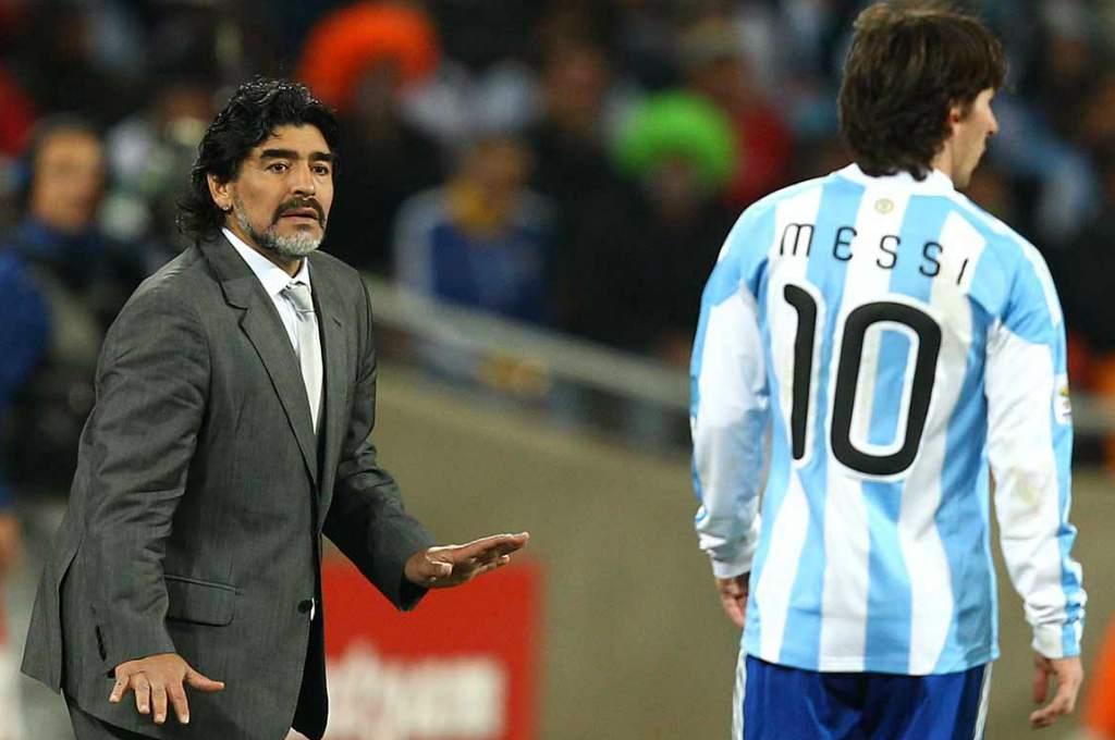 ¡El 10 destrozó al 10! Maradona: