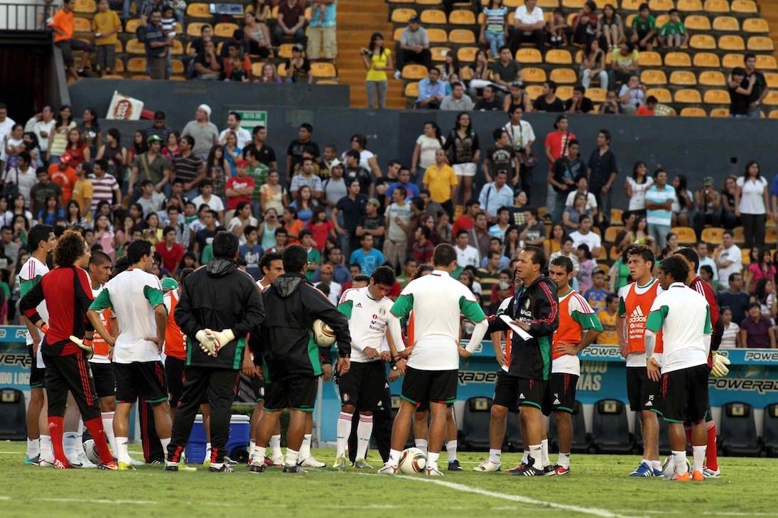 México vs Colombia en Monterrey