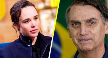 La charla de Ellen Page y Bolsonaro que causó polémica en 2016