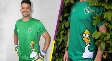Playera de equipo de Tercera de Argentina causa furor por meme de Homero