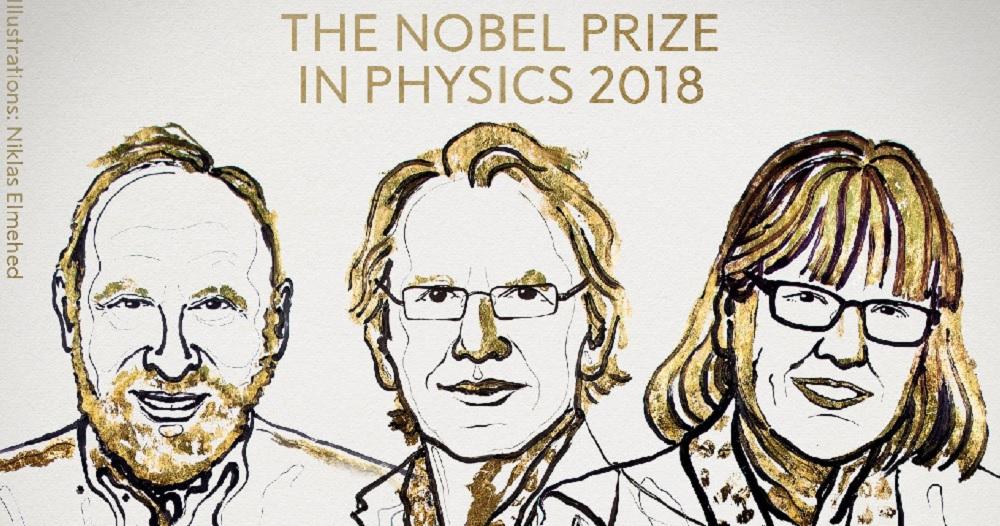 Nobel de Física es para Ashkin, Mourou y Strickland, por innovaciones en física láser