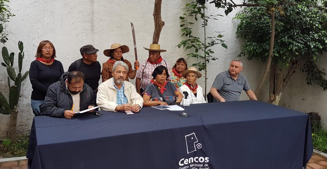 Frente de Pueblos exige restauración del lago en Texcoco y restitución de tierras