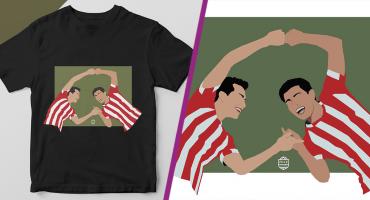 ¡Toma todo mi dinero! Aficionados del PSV ya tienen playeras con la fusión del Chucky y Gutiérrez