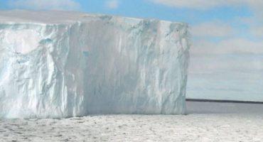 Así se escucha el canto de un glaciar de la Antártida