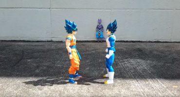 ¿Fan de Dragon Ball? ¡Entonces mira esta animación stop-motion!