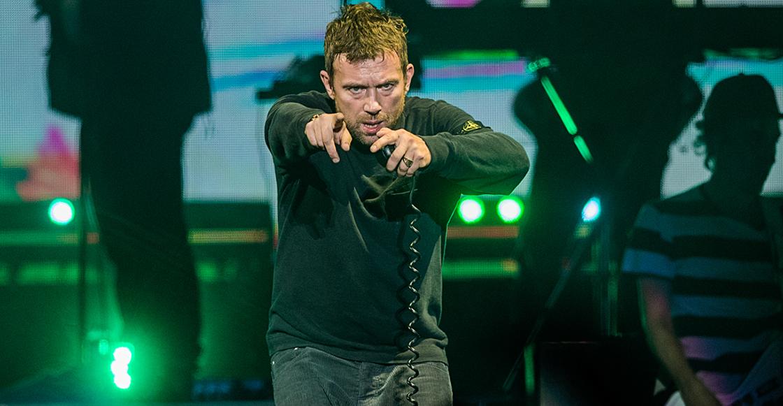 Gorillaz termina su tour: el día en que Damon Albarn reverenció a México