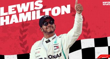¡Lewis, hermano, ya eres mexicano! Hamilton se corona por segunda vez en el Gran Premio de México