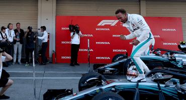 Hamilton puede coronarse en el Gran Premio de México otra vez