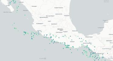 Checa estos mapas interactivos con el historial de los sismos en México