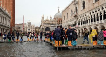 En imágenes: Tres cuartas partes de Venecia están inundadas; van 5 muertos