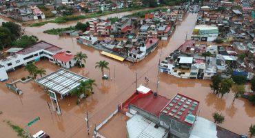 Morelia está literalmente bajo el agua por el huracán