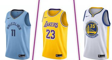 Todos los jerseys de la Conferencia Oeste para la temporada 2018-19 de la NBA