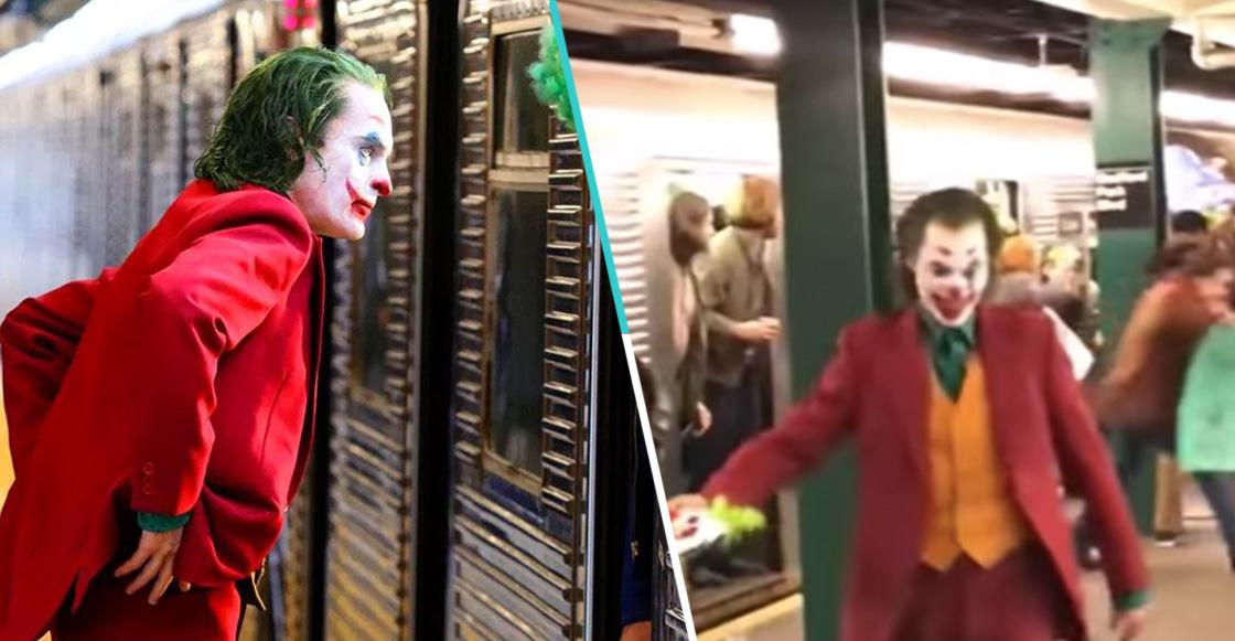 Extras de Joker fueron encerrados en el Metro de NY