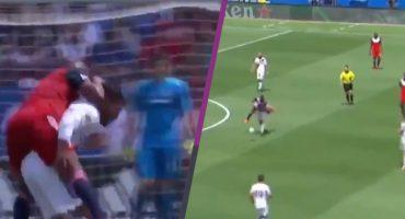 La técnica del 'caballito' que aplicó Jonathan Dos Santos para evitar a un rival