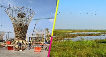 Según AMLO el 'antiguo' NAIM Texcoco será parque ecológico